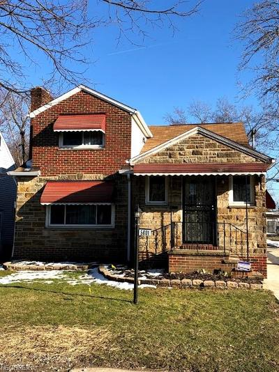 Maple Heights Single Family Home For Sale: 5601 Dalewood Ave
