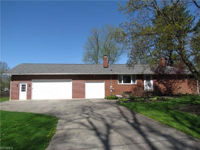 Garrettsville Single Family Home For Sale: 10756 Forest St