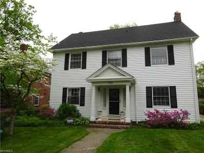 Shaker Heights Single Family Home For Sale: 3259 Stockholm Rd