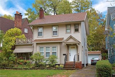 Cleveland Heights Single Family Home For Sale: 2516 Norfolk Rd