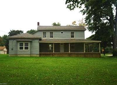 Garrettsville Single Family Home For Sale: 8155 Maple Ave