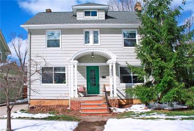 Cleveland Heights Single Family Home For Sale: 3277 Ormond Rd