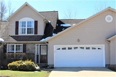 Painesville OH Condo/Townhouse For Sale: $155,000