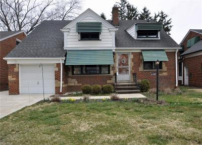 Cleveland Single Family Home For Sale: 21358 Eaton Rd