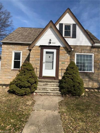 Euclid Single Family Home For Sale: 21631 Priday Ave