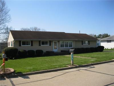 New Concord OH Single Family Home For Sale: $149,900
