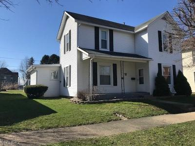 Byesville OH Single Family Home For Sale: $109,900