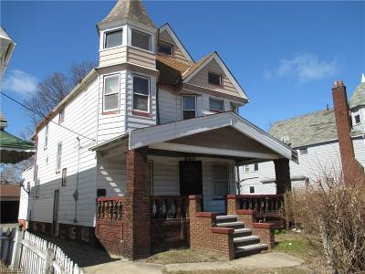 Cleveland Single Family Home For Sale: 990 East 79th St