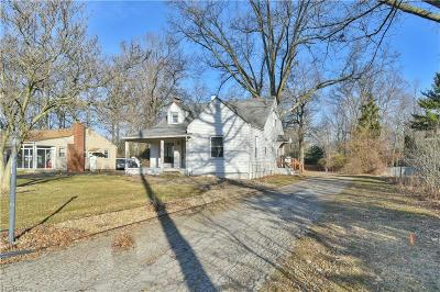 Canfield Single Family Home For Sale: 4272 Canfield Rd