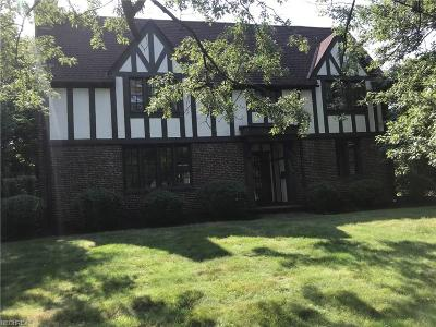 Shaker Heights Single Family Home For Sale: 18650 Parkland Dr
