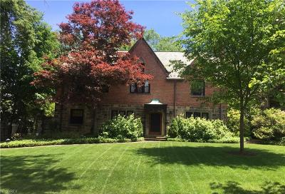 Shaker Heights Single Family Home For Sale: 2699 Wadsworth Rd