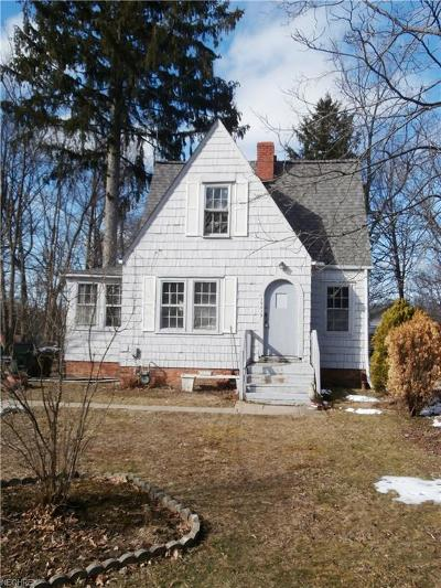 Wickliffe Single Family Home For Sale: 29419 Waldensa Ave