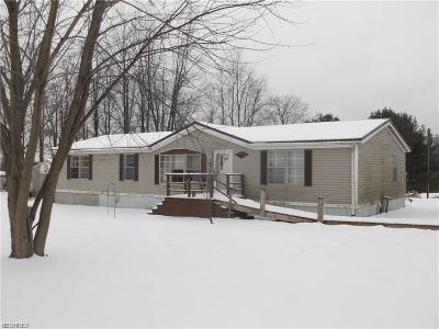 Kimbolton OH Single Family Home For Sale: $44,900