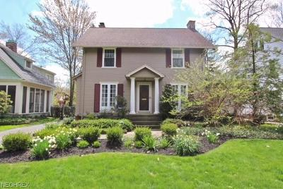 Cleveland Heights Single Family Home For Sale: 2970 Scarborough Rd
