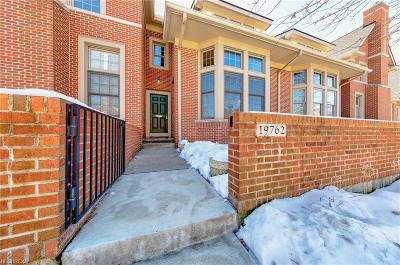Cuyahoga County Single Family Home For Sale: 19762 Chagrin Blvd