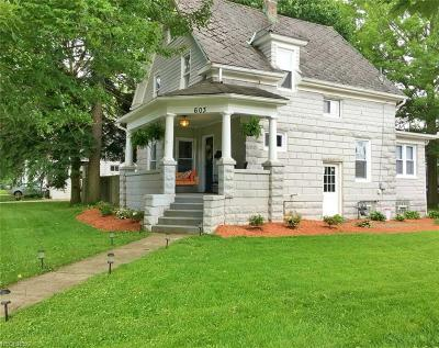 Medina Single Family Home For Sale: 603 South Broadway St