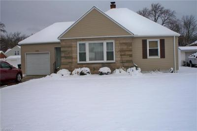 Cleveland Single Family Home For Sale: 11511 McCracken Rd