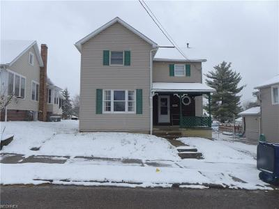 New Lexington OH Single Family Home For Sale: $79,900