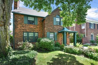 Shaker Heights Single Family Home For Sale: 3329 Chalfant Rd