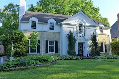Shaker Heights Single Family Home For Sale: 20862 West Byron Rd