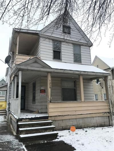 Cuyahoga County Multi Family Home For Sale: 1358 West 59th St