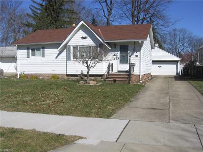 Wickliffe Single Family Home For Sale: 29245 Beechwood Dr