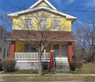 Cuyahoga County Multi Family Home For Sale: 9415 Bessemer Ave