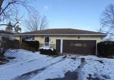Cuyahoga County Single Family Home For Sale: 1203 Jackie Ln