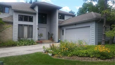 Cuyahoga County Single Family Home For Sale: 1 Longmeadow Ln