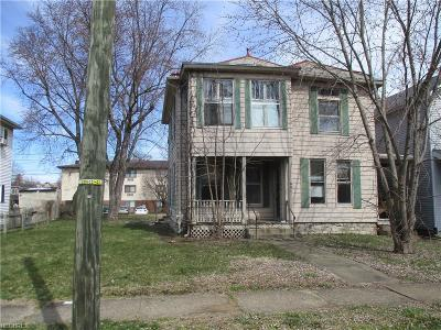 Zanesville Multi Family Home For Sale: 519 Forest Ave