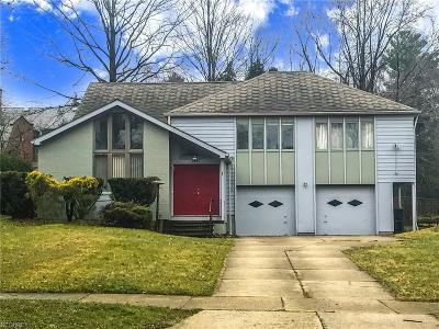 Cleveland Heights Single Family Home For Sale: 2656 Edgehill Rd