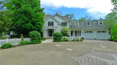 Gates Mills Single Family Home For Sale: 7445 Old Mill Rd