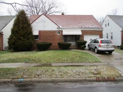 South Euclid Single Family Home For Sale: 3945 Grosvenor Rd