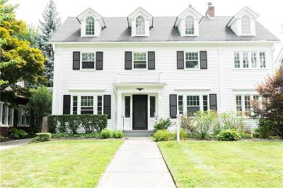 Cleveland Heights Single Family Home For Sale: 2207 Demington Dr