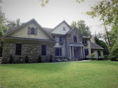 Geauga County Single Family Home For Sale: 10319 Sherman Rd