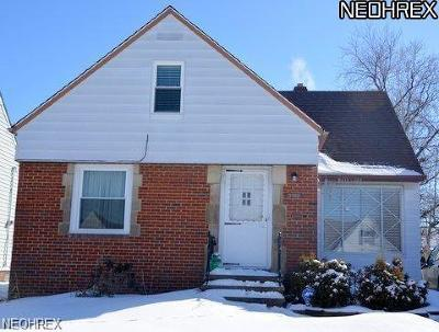 South Euclid Single Family Home For Sale: 4166 Wyncote Rd