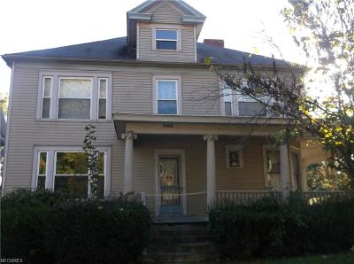 Guernsey County Single Family Home For Sale: 400 North 7th