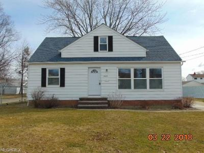Willoughby Single Family Home For Sale: 3877 East 365th St