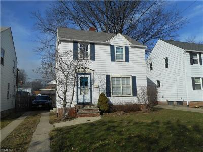 South Euclid Single Family Home For Sale: 3755 Sherwood Rd