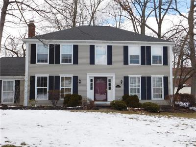 Strongsville Single Family Home For Sale: 16980 South Meadows Cir