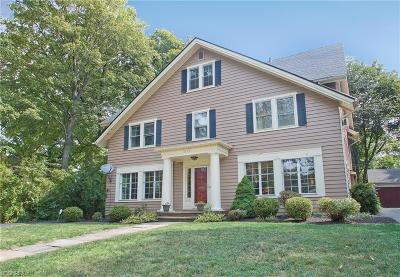 Cleveland Heights Single Family Home For Sale: 2183 North Saint James Pky