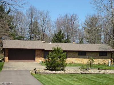 North Royalton Single Family Home For Sale: 9670 West Edgerton Rd