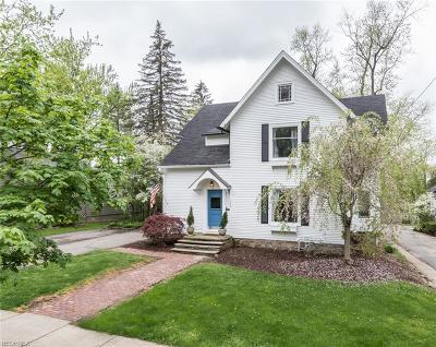 Chagrin Falls Single Family Home For Sale: 130 South Main St