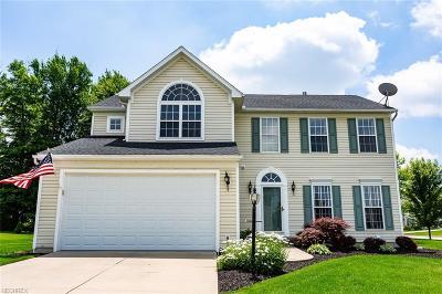 Copley Single Family Home For Sale: 4608 Rockridge Way