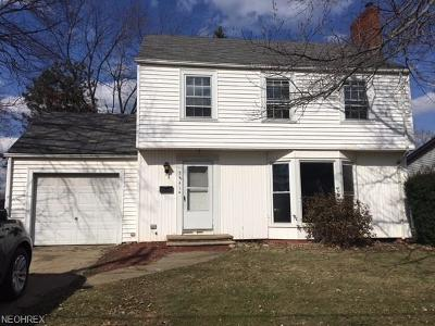 Canton OH Single Family Home Sold: $37,900