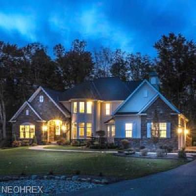 Solon Single Family Home For Sale: S/L 54 Birkdale Ct