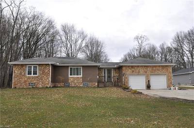 Warren Single Family Home For Sale: 9485 Howland Springs