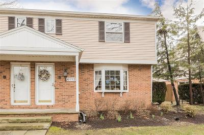 Mentor Condo/Townhouse For Sale: 6113 Cabot Ct