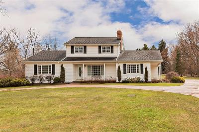 Gates Mills Single Family Home For Sale: 34450 Dorchester Rd