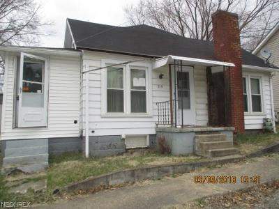 Single Family Home For Sale: 519 Walnut St